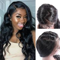 Ruiyu Glueless Full Lace Human Hair Wigs Brazilian Body Wave Lace Wig