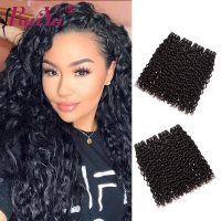 Ruiyu Brazilian Hair 4 Bundles Water Wave Unprocessed Virgin Hair Extensions