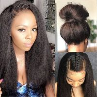 Ruiyu Silky Straight Virgin Hair Glueless Full Lace Wigs For Women Popular