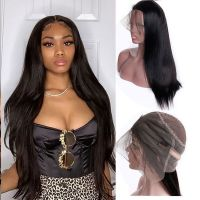 Ruiyu Silky Straight 360 Lace Wigs 100% Human Hair Natural Hairline