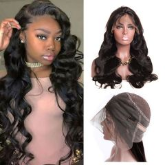 RuiYu 8A Grade Remy Hair 360 Lace Front Wigs Body Wave Popular Hair