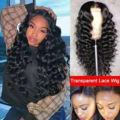 NEW ! Ruiyu Transparent Lace Wig 13X6 Water Wave Lace Front Wig Suit For Any Skin