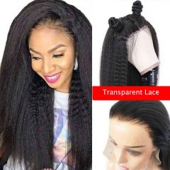 Ruiyu 13x6 Lace Front Wig Kinky Straight Can Be Ponytail Lace Wigs