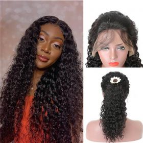 RuiYu Water Wave Hair Wigs Full Lace Wigs Can Do High Ponytail Glueless Wig