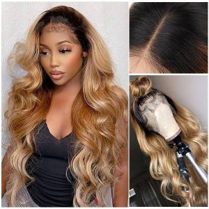Ruiyu Virgin Hair Body Wave Human Hair Lace Front Wig