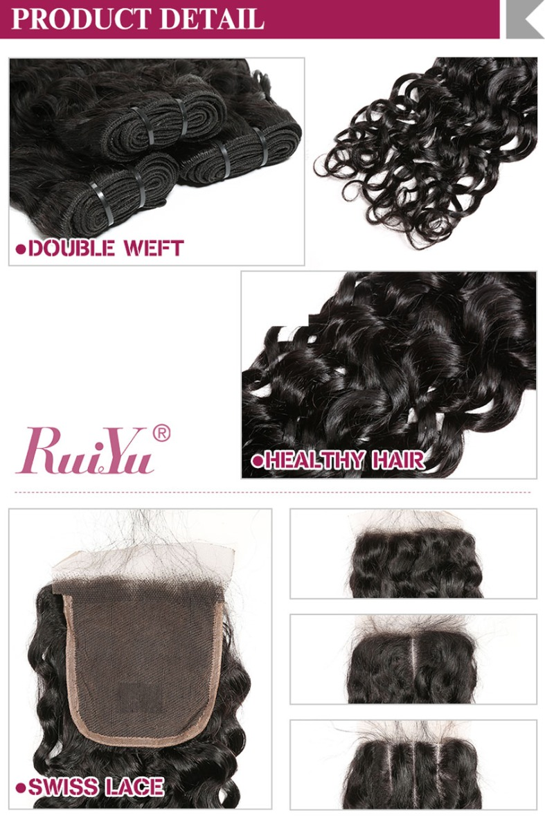 water wave bundles curly wave natural color truth to length